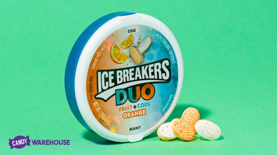 Hershey's Releases ICE BREAKERS Orange Mints
